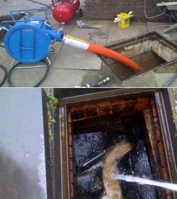 drain jetting bedford