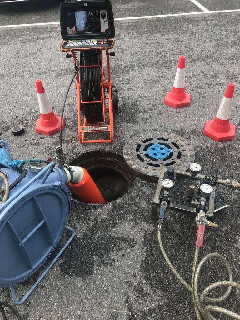 drain repair watford