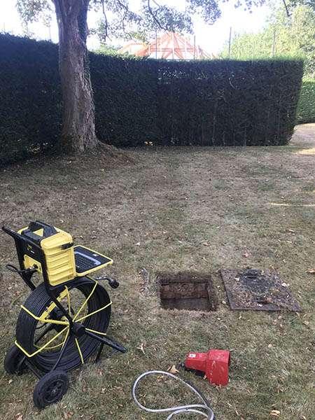 cctv drain survey knebworth